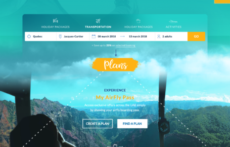 Web Design – Air Fly